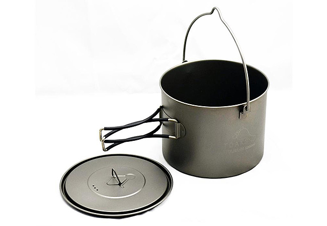 TOAKS - Titanium 1300ml Pot with Bail Handle
