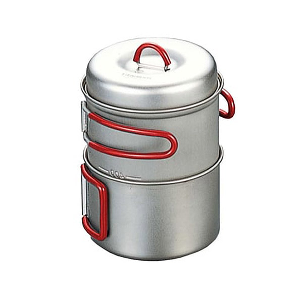 Evernew - Titanium Solo Pot Set 750 ml + 400 ml