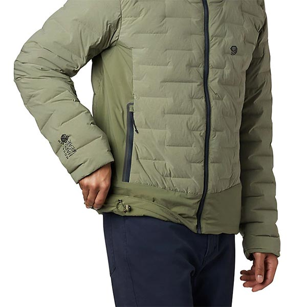 Mountain Hardwear - Doudoune Homme Super DS Climb Hooded Jacket (Light Army)