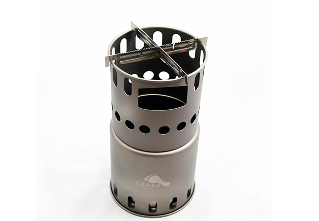 TOAKS - Titanium Wood Stove Cross Bars