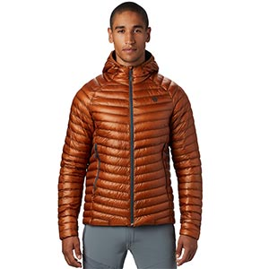 Mountain Hardwear - Doudoune Homme Ghost Whisperer/2 Hoody (Rust Earth)