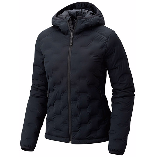 Mountain Hardwear - Doudoune Femme StretchDown DS Hooded Jacket Black