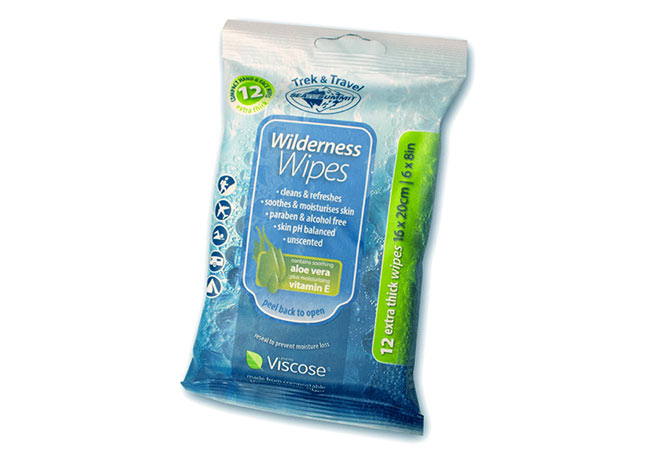 Sea to summit - Lingettes Wilderness Wipes