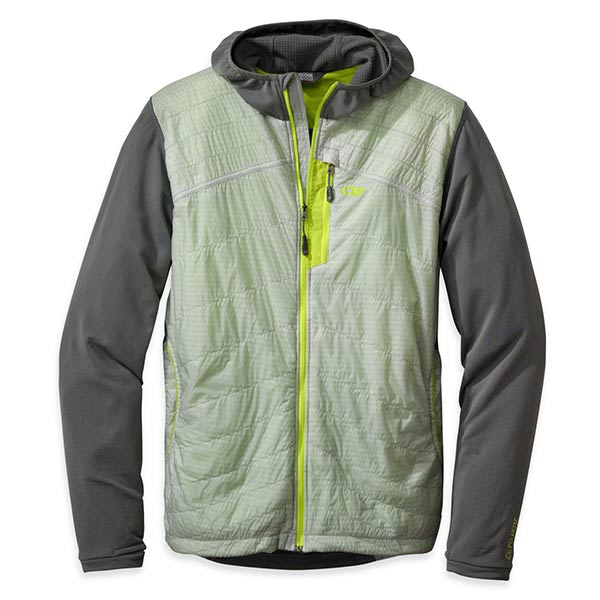 Outdoor Research - Veste technique à capuche Men's Deviator Hoody (Alloy/Pewter)