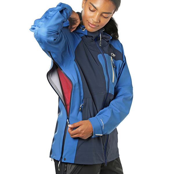 Outdoor Research - Veste de ski de rando Women's Skyward II Jacket (Naval blue/Lapis)
