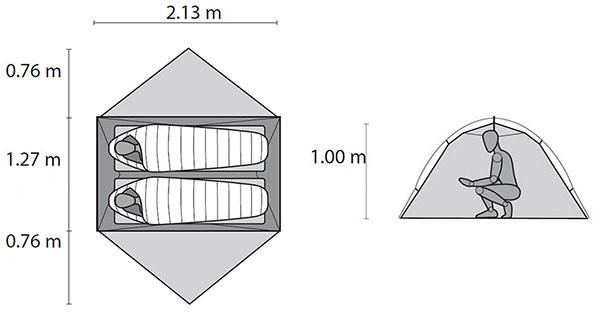 Msr Hubba Hubba Nx Tente L 233 G 232 Re 2 Places