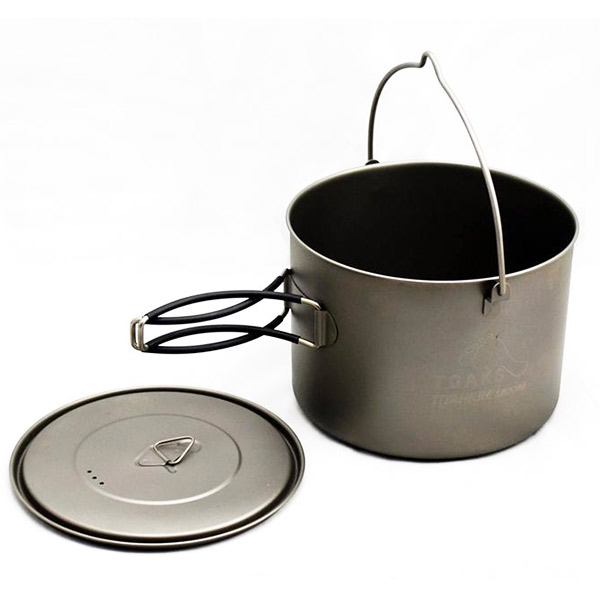 TOAKS - Titanium 1600ml Pot with Bail Handle