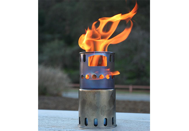 TOAKS - Titanium Backpacking Wood Burning Stove