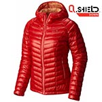 Mountain Hardwear - Doudoune Femme Ghost Whisperer Down Hooded Jacket Scarlet Red