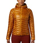 Mountain Hardwear - Doudoune Femme Ghost Whisperer Down Hooded Jacket (Gold Hour)