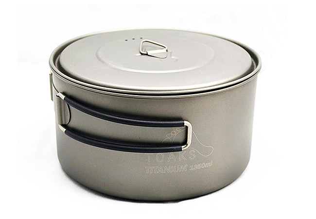 TOAKS - Titanium 1350ml Pot