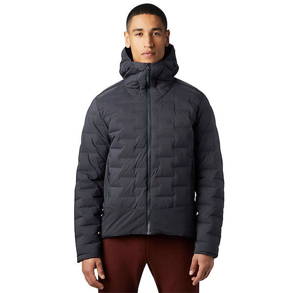 Mountain Hardwear - Doudoune Homme Super DS Climb Hooded Jacket (Dark Storm)