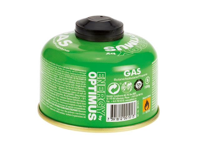 Optimus - Cartouche de gaz Energy 100 g