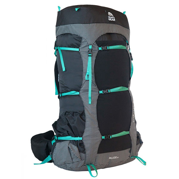 Granite Gear - Sac à dos Blaze 60 Women's- Black Black Gingham Teal