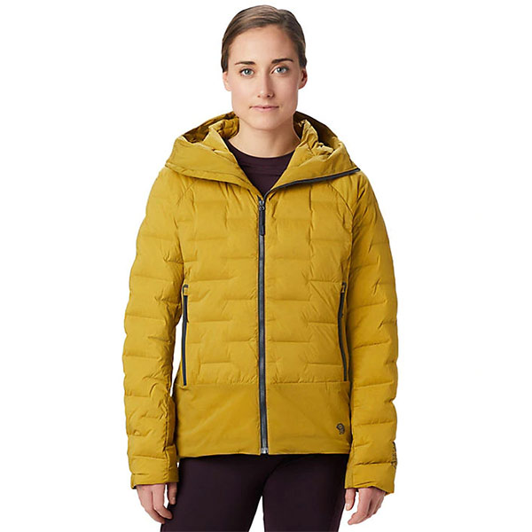 Mountain Hardwear - Doudoune Femme Super DS Climb Hooded Jacket (Dark Bolt)