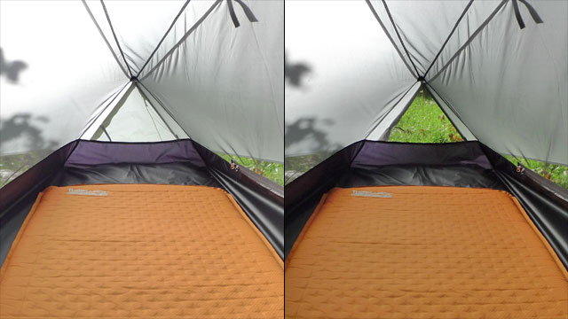 Tarptent - Tente Notch (partial solid)