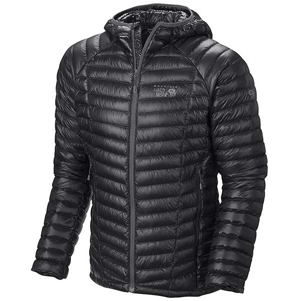 Mountain Hardwear - Doudoune Homme Ghost Whisperer Down Hooded Jacket Black
