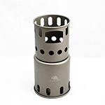 TOAKS - Titanium Backpacking Wood Burning Stove (Small)