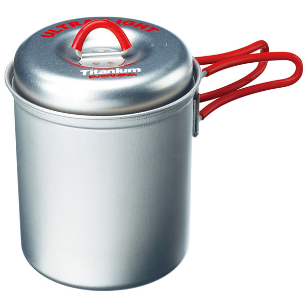 Evernew - Titanium Ultralight Deep Pot S 640 ml