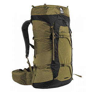 Granite Gear - Sac à dos Crown2 60 - Highland Peat Black