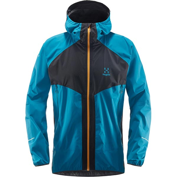 Haglöfs - Veste imperméable L.I.M PROOF Multi Jacket Men (Slate/Mosaic Blue)