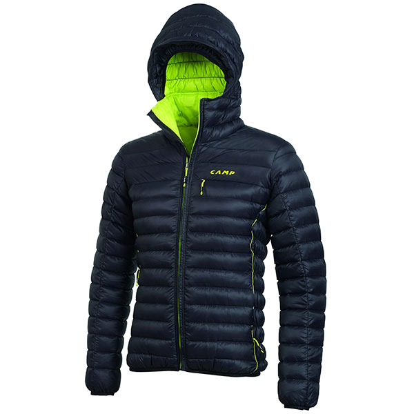 CAMP - ED Proctection Jacket Black/Lime