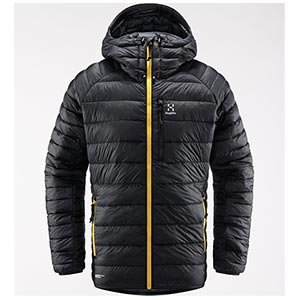 Haglöfs - Doudoune homme V series Mimic Hood Men (True Black)