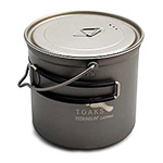 TOAKS - Titanium 1100ml Pot with Bail Handle