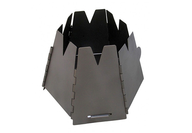 Vargo - Réchaud à bois Hexagon Wood Stove (Titanium)