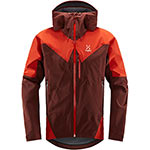 Haglöfs - Veste homme L.I.M Touring PROOF (Maroon red habanero)