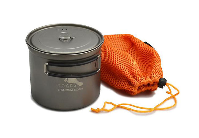 TOAKS -  Titanium 1000 ml Pot