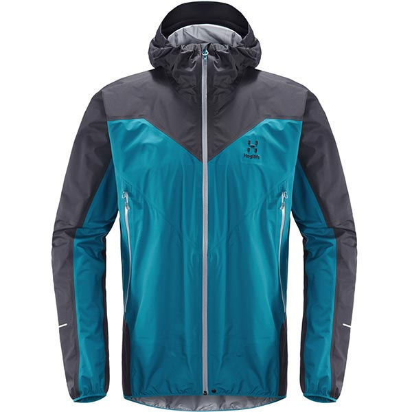 Haglöfs - Veste imperméable L.I.M Comp Jacket Men (Mosaic Blue Slate)