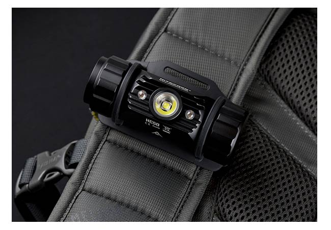 Nitecore - Lampe frontale HC50  565 Lumens + Chargeur + batterie