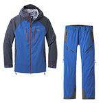 Outdoor Research - Ensemble Men's Skyward II Veste + Pantalon (Cobalt/Naval blue)