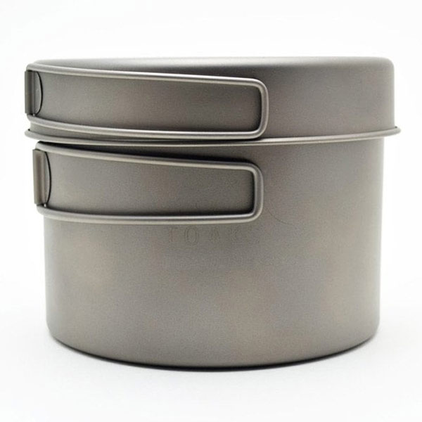 TOAKS - Titanium 1300ml Pot with Pan