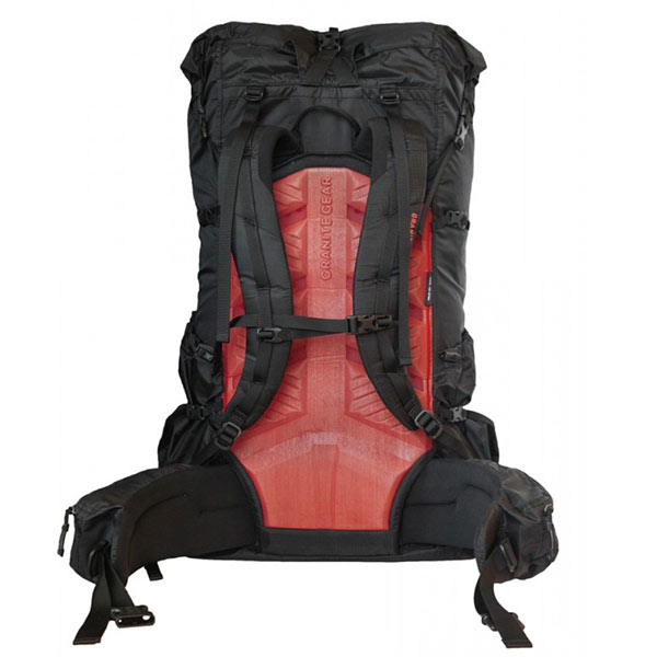 Granite Gear - Sac à dos Crown2 60 Women's- Black Red Rock