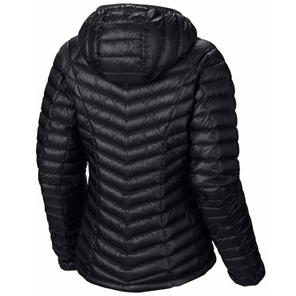 Mountain Hardwear - Doudoune Femme Ghost Whisperer Down Hooded Jacket Black