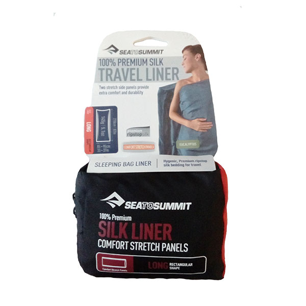 Sea to summit - Drap de sac Travel Liner (soie) Rectangulaire Long