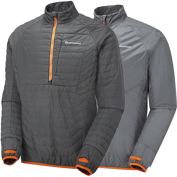Montane - Pull en isolation synthétique Fireball Verso Pull-On