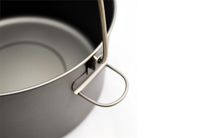 TOAKS - Titanium 2000ml Pot with Bail Handle