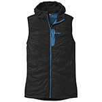 Outdoor Research - Men's Deviator Hooded Vest (Black/Tahoe)