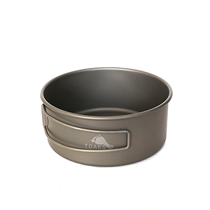 TOAKS - Titanium Bowl 550 ml 118mm